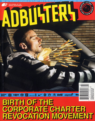 Adbusters #114: Blueprint for a New World Part III (Corpo) – Birth of the Corporate Charter Revocation Movement