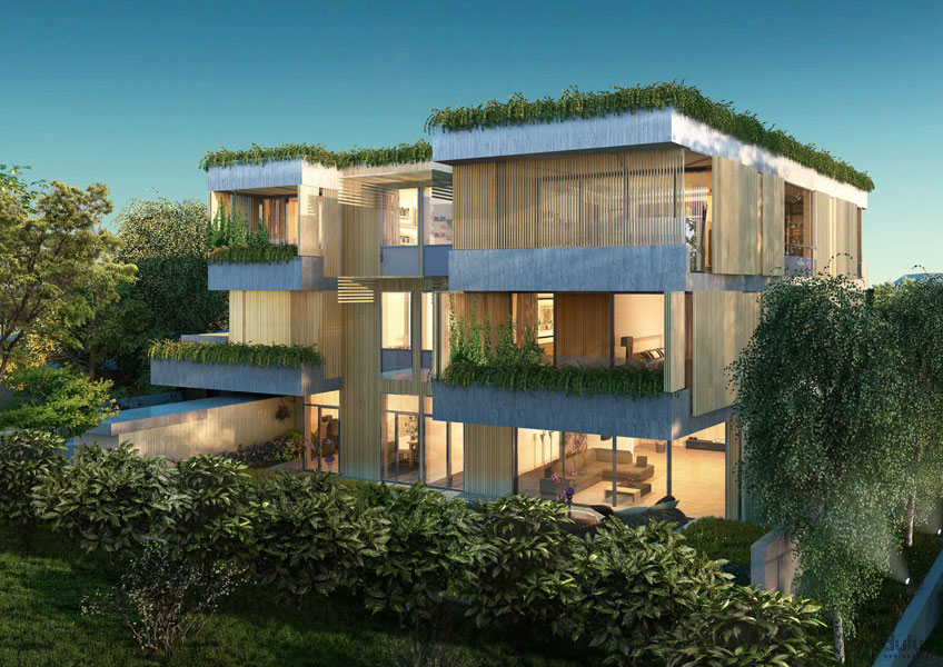 Fender Katsalidis Mirams Architects — Modulus Luxury Residential
