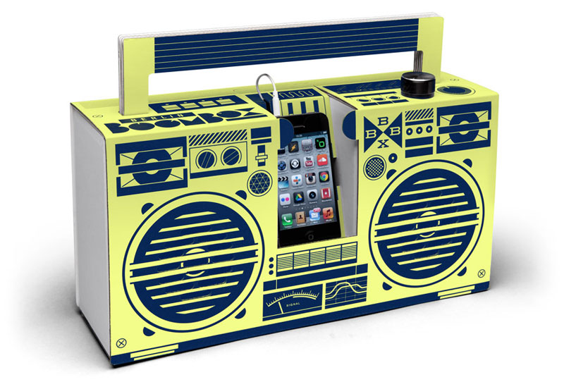 Studio Axel Pfaender – Berlin Boombox Lemon – Berlin, Germany