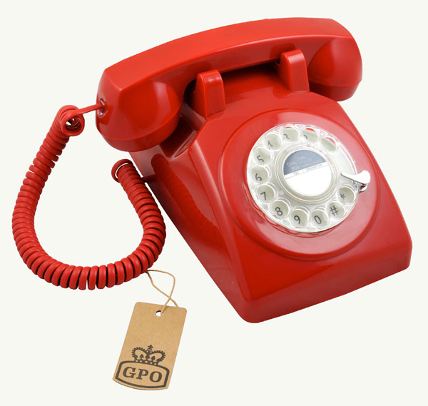 GPO – 1970 Rotary Retro Telephone