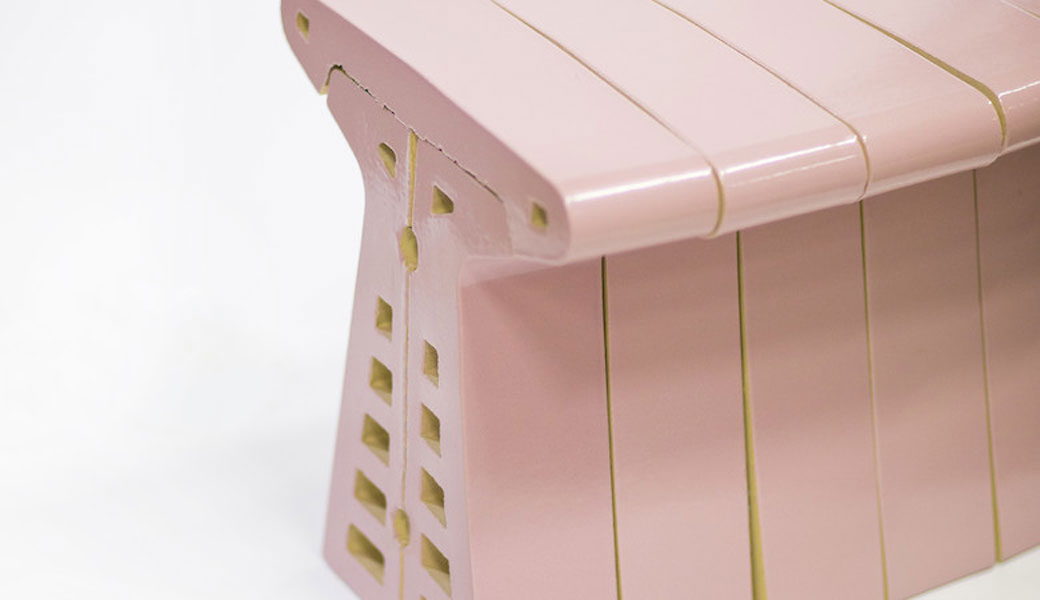 LABEL/BREED – Glazed Brick Bench by Chris Kabel and St. Joris – 阿姆斯特丹 荷蘭