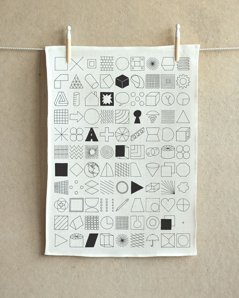 makelike – 100 Things Tea Towel
