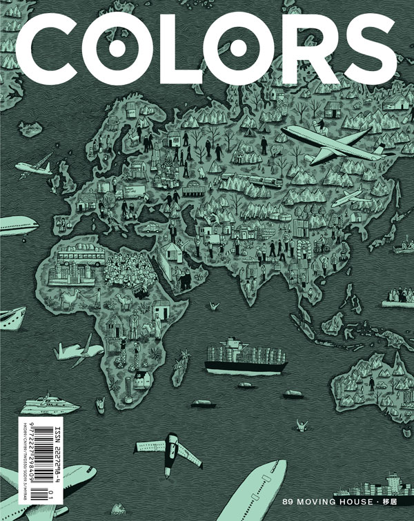 COLORS 89: Moving House – In the past quarter century, the world's migration rate has doubled. Today, 232 million migrants live abroad, and 90 million more are currently packing their bags. COLORS 89 – Moving House follows their journeys.