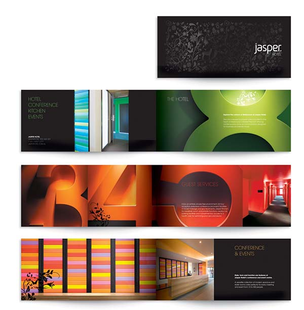 Inviting Hotel Brochures Designs   Wild River