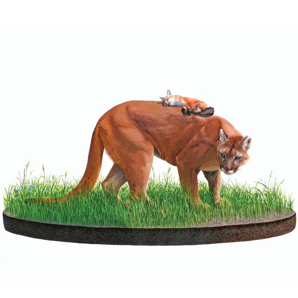 Josh Keyes – Oregon, USA