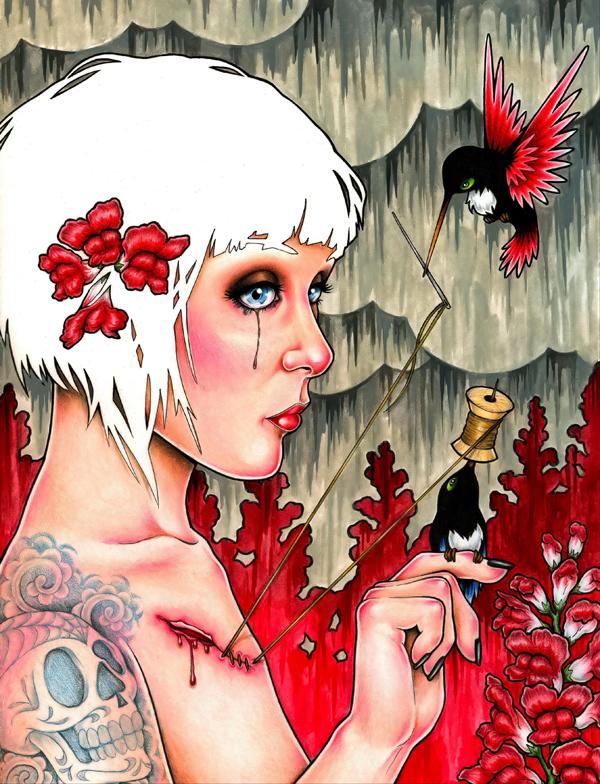 Бессмертные сказки. художник-самоучка из Калифорнии. Гленн родился в