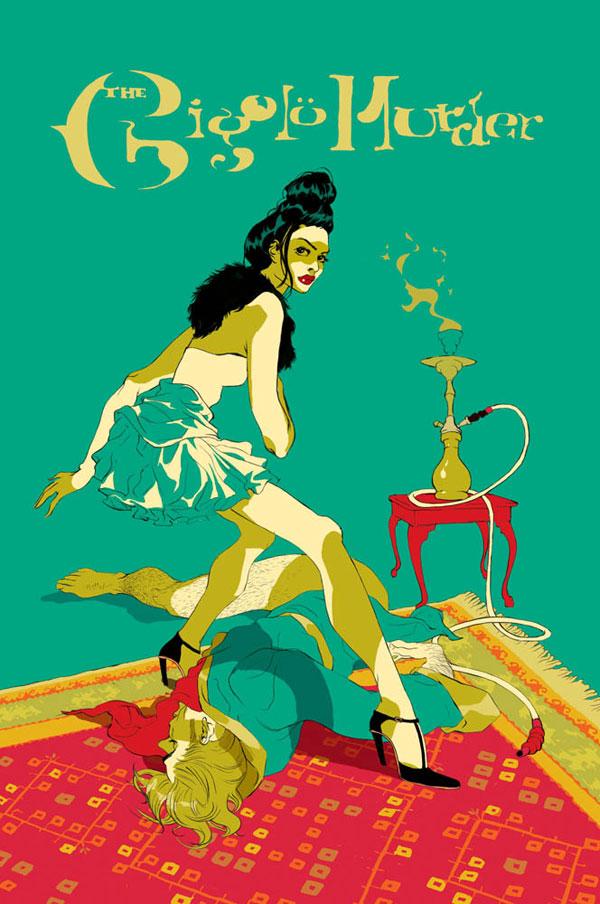 Mystery Book Cover Illustration : Tomer hanuka new york usa