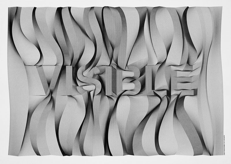Cooee – Leon Dijkstra. – Amsterdam, Netherlands #cooee_good_typeface_is_invisible_poster_01.jpg