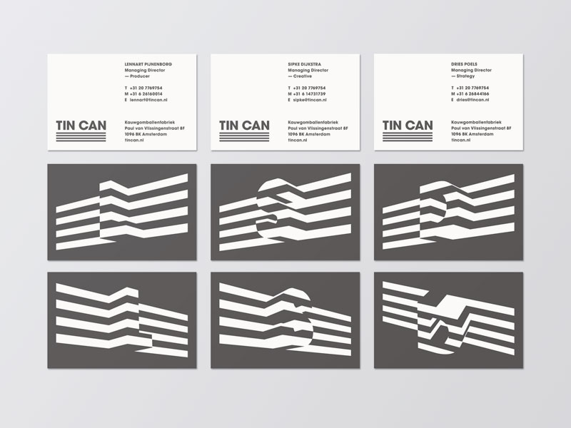 Cooee – Leon Dijkstra. – Amsterdam, Netherlands #cooee_tin_can_01_business_cards.jpg