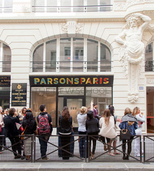 Parsons Paris Celebrates Opening Of The New Campus Centre New York Usa Paris France