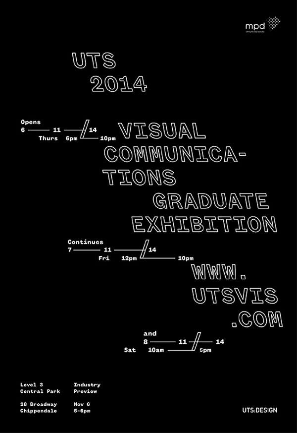 The 2014 UTS Visual Communication Graduate Exhibition – Sydney, Australia