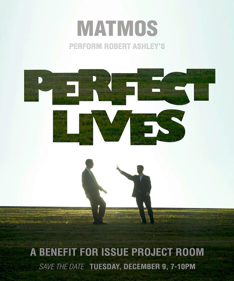 ISSUE Project Room – Matmos performance of Robert Ashley's