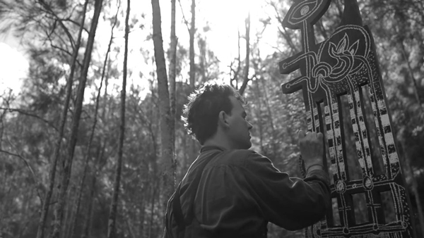 Joshua Yeldham 'Surrender' Manly Regional Gallery Opening