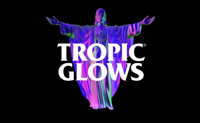 Nick Thomm first New York solo exhibition:  Tropic Glows
