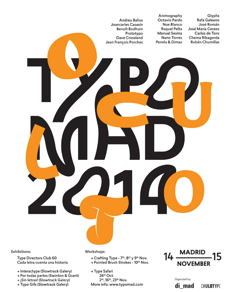 Typomad 2014: What is Hidden in Typography