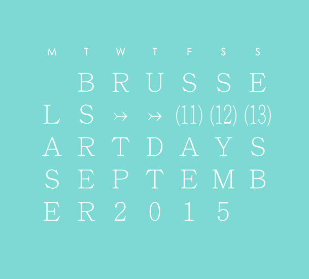 Brussels Art Days 2015 – Brussels, Belgium