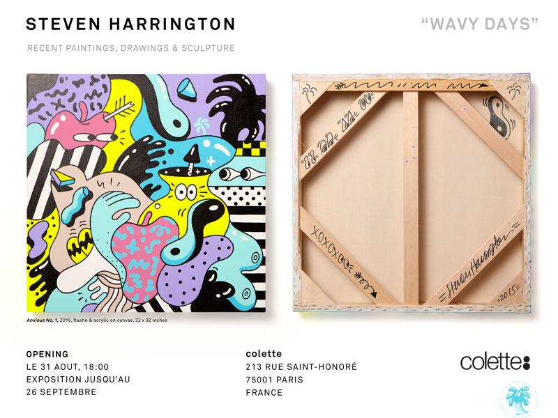 """COLETTE presents """"Wavy Days"""" by Steven Harrington – Paris, France"""