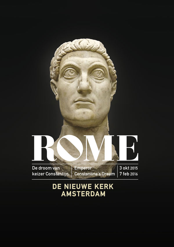 Exhibition Rome. Emperor Constantine's Dream – Amsterdam, The Netherlands