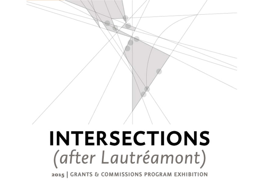 Intersections (after Lautréamont) – 2015 CIFO Grants & Commissions Program Exhibition – Miami, USA