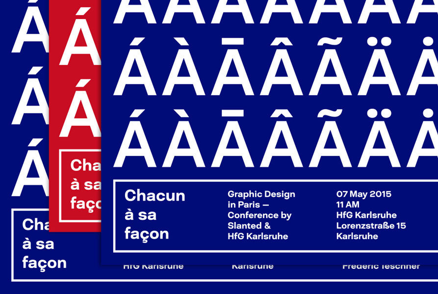 Graphic Design in Paris – Conference by Slanted + HFG Karlsruhe – Karlsruhe, Germany