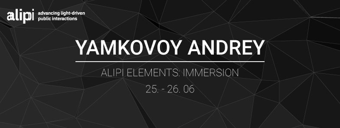 "Yamkovoy Andrey ""ALIPI Elements: Immersion"" – Expert Workshop – Prague, Czech Republic"