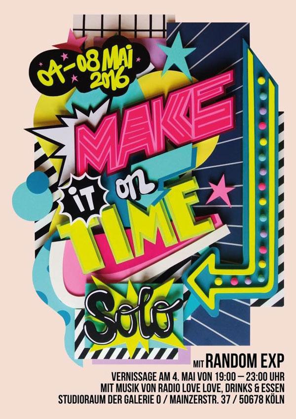 make it on time solo with Random EXP – Köln, Germany
