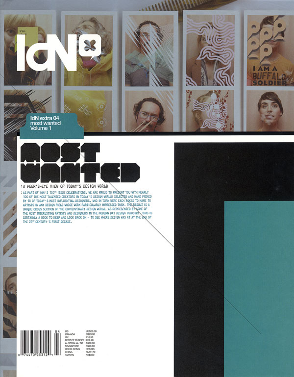 IdN Extra 04: Most Wanted Volume 1 – A peer's eye view of today's design world!