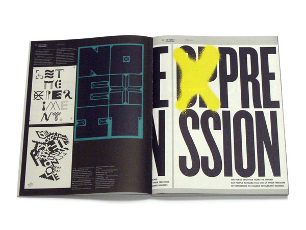 IdN Extra 08: Typo/graphic Posters p6-7