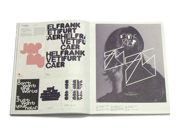 IdN Extra 08: Typo/graphic Posters p92-93