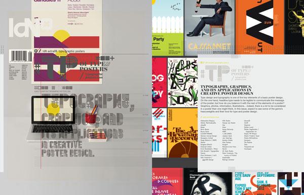 并将其应用在创意的海报设计上