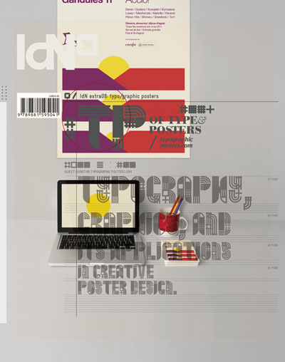 IdN Extra 08: Typo/graphic Posters – Data Typography, Graphics, and its Application in Creative Poster Desi