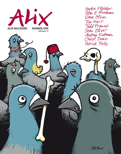 ALIX Magazine #01: Legendary Characters of the Alternative Culture – IdN Extra 12 (English Edition)