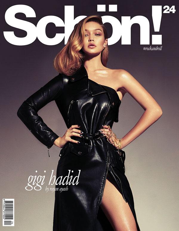 Schön! 24: Gigi Hadid #rockandroll