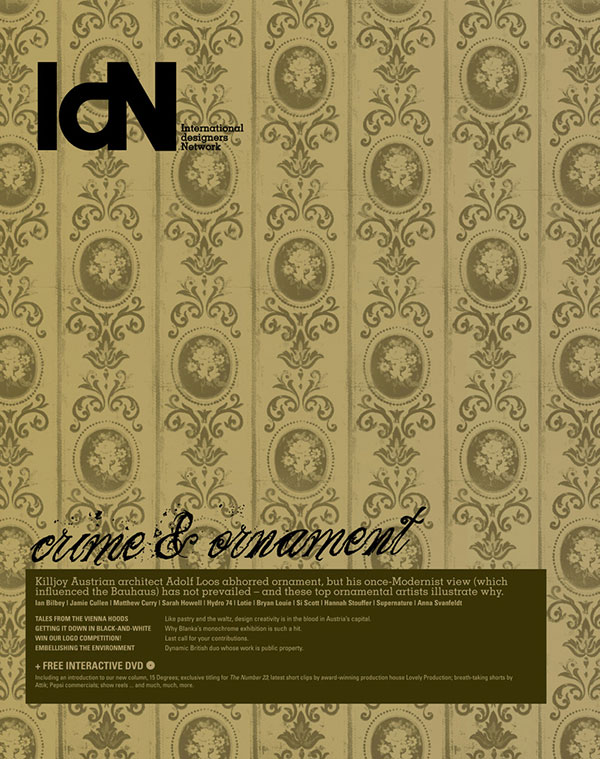 IdN v14n2: Ornamental Graphics Issue – Crime and Ornament