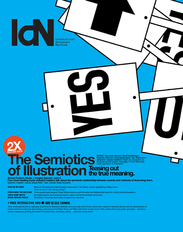 IdN v15n1: The Semiotics of Illustration – A Clash of Symbols