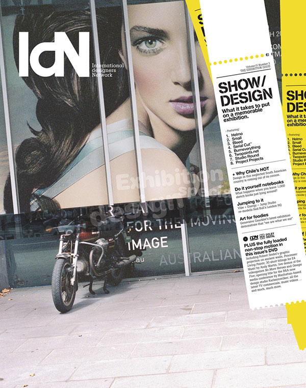 IdN v15n3: The Exhibition Issue – No Business like Show Business