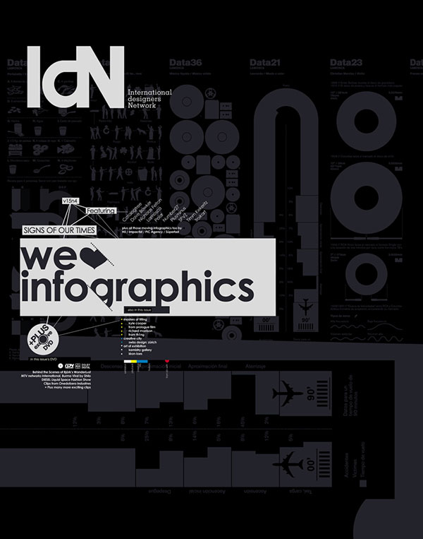 IdN v15n4: We love infographics – Signs of the times