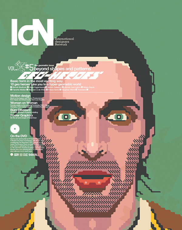 IdN v15n5: The Geometric Issue – Shaping up to geometric design