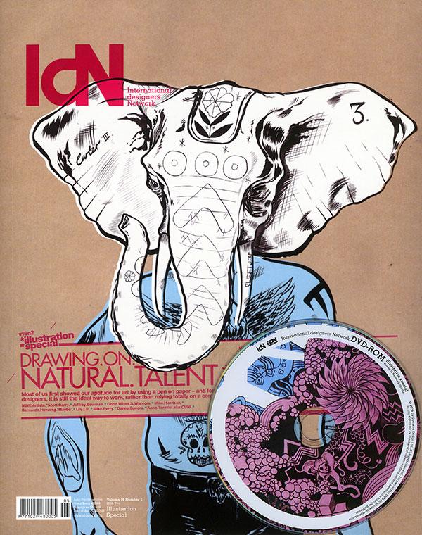 IdN v16n2: Illustration Special – The Joys of being Hands-On