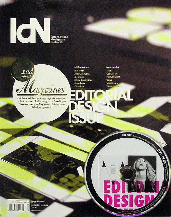 IdN v16n5: Editorial Design Issue – The Magic of Magazines