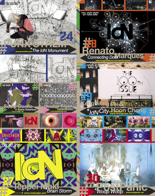 IdN v17n4: 100th Issue – 10 DESIGNERS / 10 CURATORS