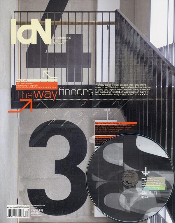 IdN v17n5: Wayfinding+Signage – The Wayfinders