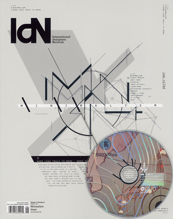 IdN v17n6: Minimalism Issue – When Less is Truly More