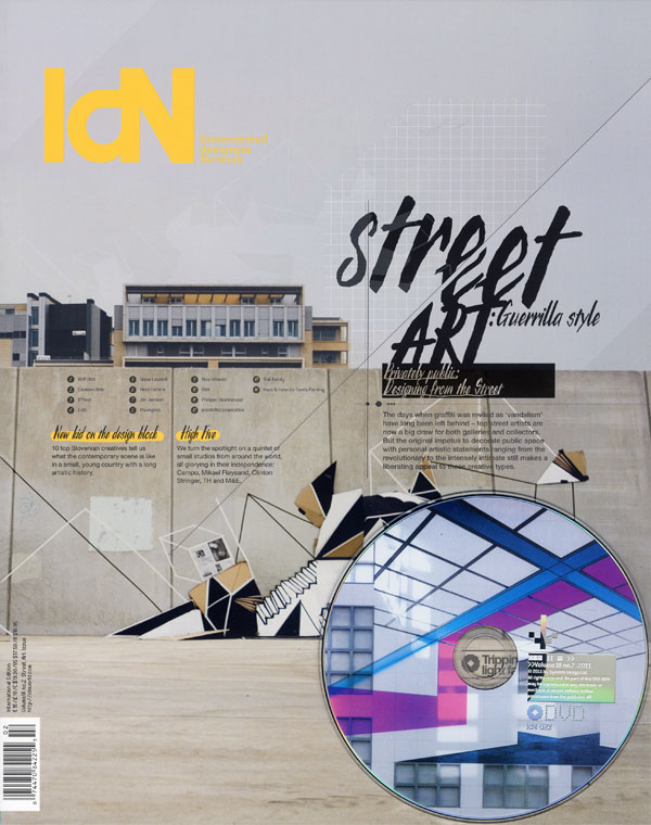 IdN v18n2: Street Art Issue – From vandalism to avant-garde