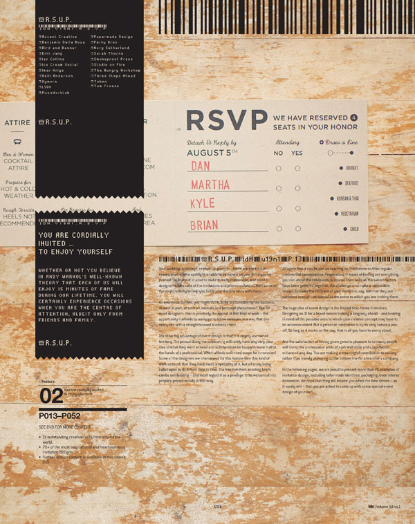 IdN v19n1: Invitation Design – RSVP