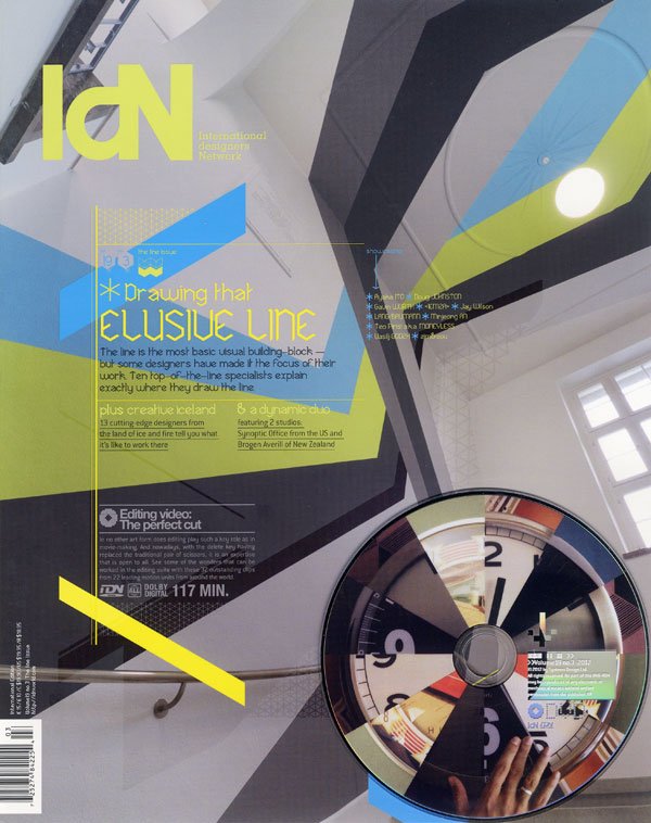 IdN v19n3: The Line Issue — Artist on the Front Line