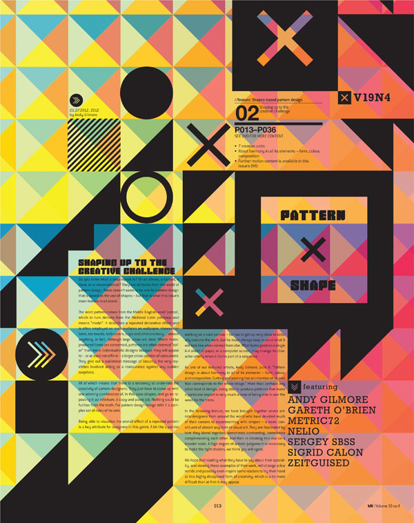 IdN v19n4: Shapes-in-Pattern – Shaping Their Own Patterns