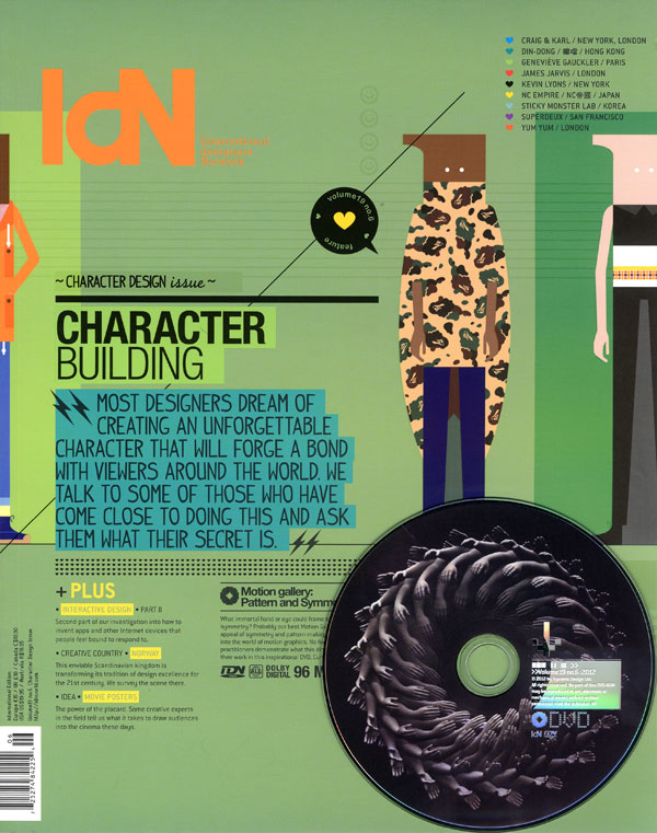 IdN v19n6: Character Design Issue — Character Building