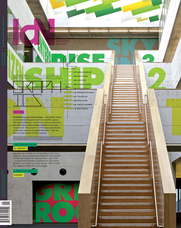IdN v20n1: Environmental Graphics Issue — Embellishing your surroundings