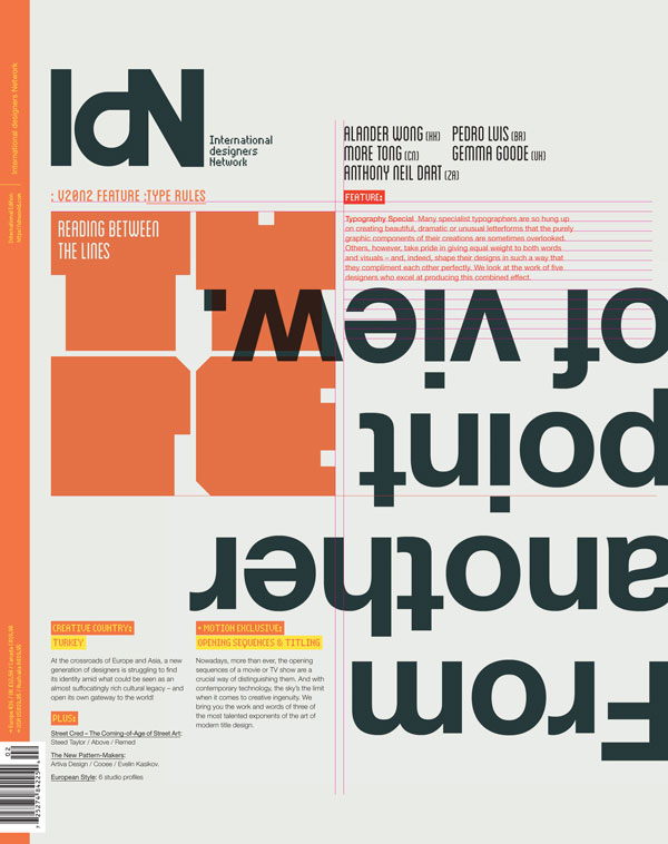 IdN v20n2: Typography Special — Reading Between the Lines